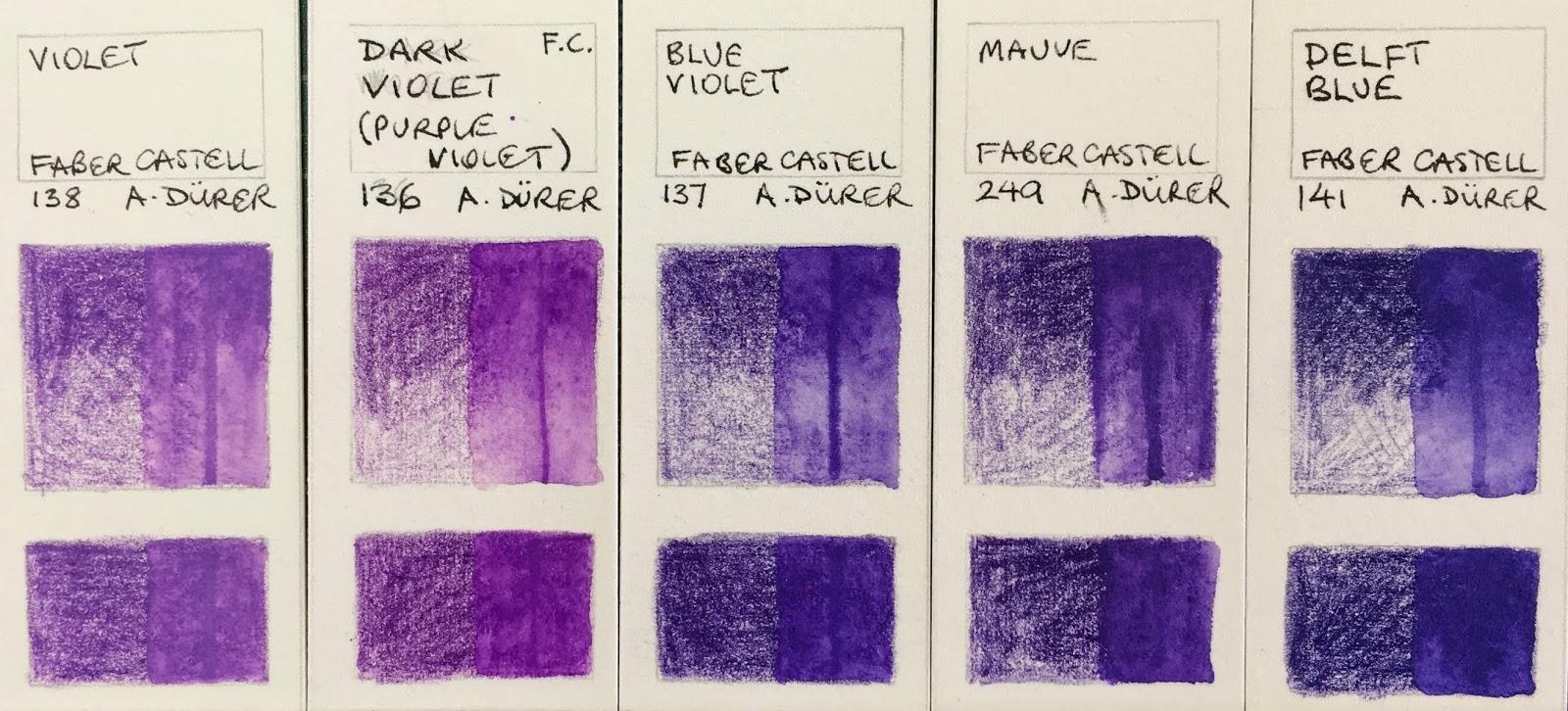 Faber Castell Albrecht Durer Watercolour Pencil Prussian Blue