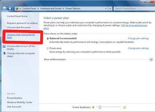 cara menutup laptop tanpa mematikan