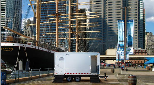 Elegant Restroom Trailers -  The Atlantic by CALLAHEAD