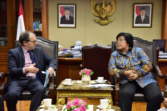 Indonesia-Perancis Sepakat Dukung Penuh Paris Agreement