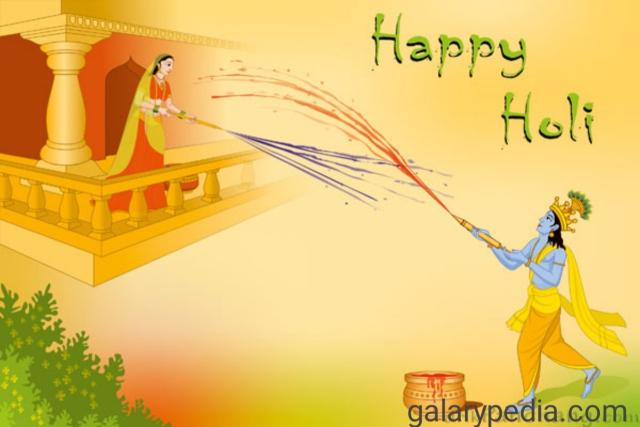 Download hd Radha Krishna Holi images