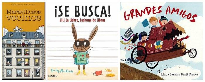 mejores cuentos y libros infantiles del 2016, maravillosos vecinos, lili, grandes amigos