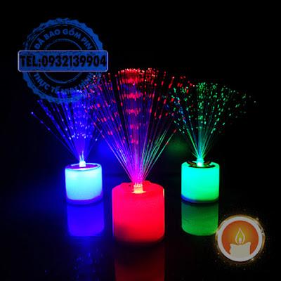 Đèn led đổi màu hình pháo hoa