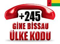 +245 Gine-Bissau ülke telefon kodu