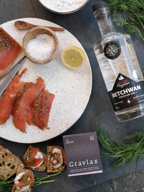 gravlax,saumon-gravlax,gin-betchwan,distillerie-puyjalon,madame-gin