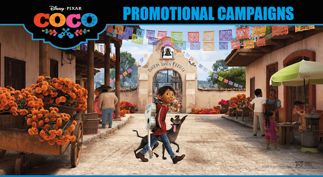 Pixar Coco Promotional Campaign