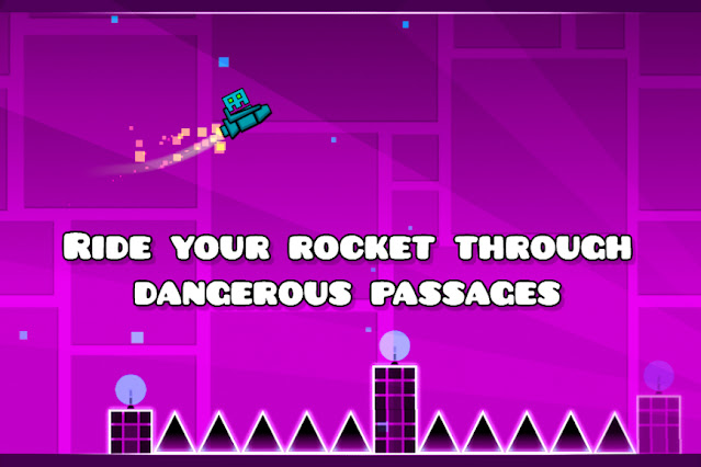 Geometry Dash Best Game For Android on Apcoid.com