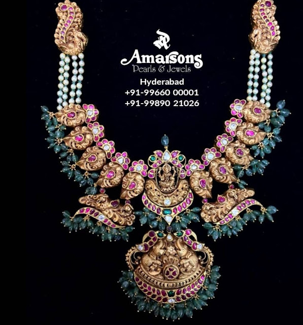 Mango Kundan Set by Amarsons Jewels