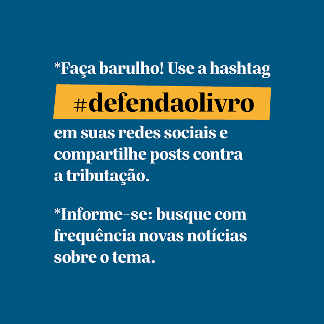 #DefendaoLivro
