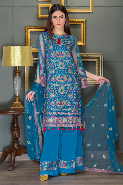 Zink color poly net 2 pc sale collection for Taana Baana