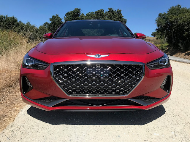 Front view of 2019 Genesis G70 3.3T Dynamic Edition