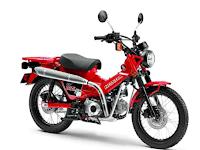 Gaya Old Namun Modern Dari Motor Bebek Trekking Honda CT125