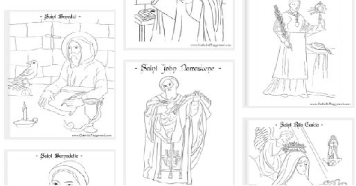The Big Christian Family: Top 10 Catholic Coloring Page