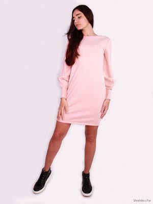 Vestidos Rosados Cortos