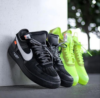 NIKE AIRFORCE OFF WHITE😍😍