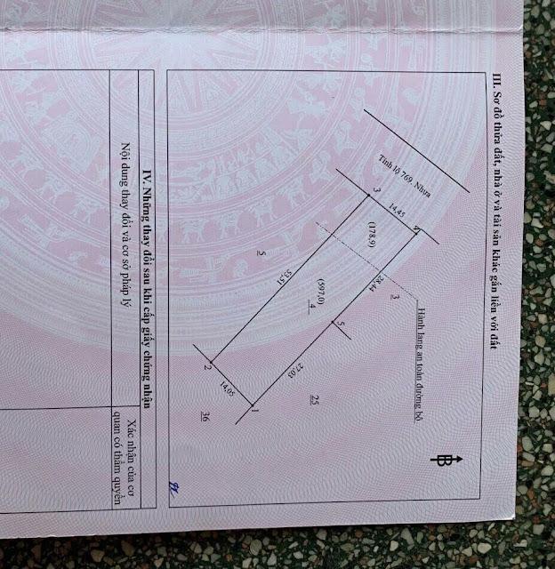 MẶT TIỀN DT769 14.5m, gần ngã tư Lộc An, huyện Long Thành.