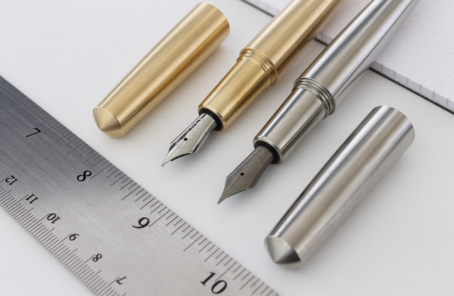 Namisu Nova brass fountain pen review