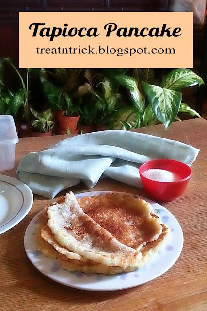 Tapioca Pancake aka Lempeng Ubi @ treatntrick.blogspot.com