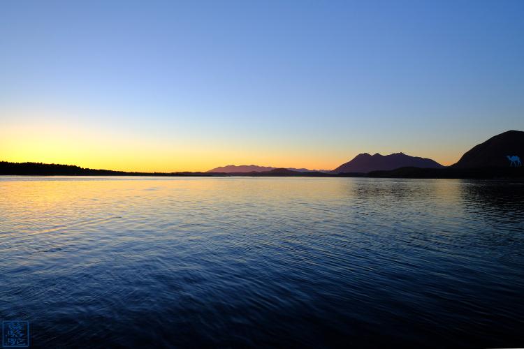 Le Chameau Bleu - Blog Voyage Tofino Canada - Tourisme Tofino - Couché de soleil au Centre ville