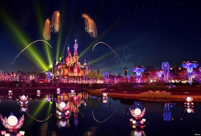 上海迪士尼樂園全新「奇夢之光幻影秀」夜間匯演將於2021年4月8日起點亮璀璨夜空, ILLUMINATE! A Nighttime Celebration will debut at Shanghai Disneyland on April 8, 2021