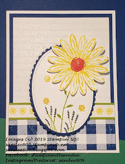 Daisy Delight Handmade Card for PCC346 Color Challenge