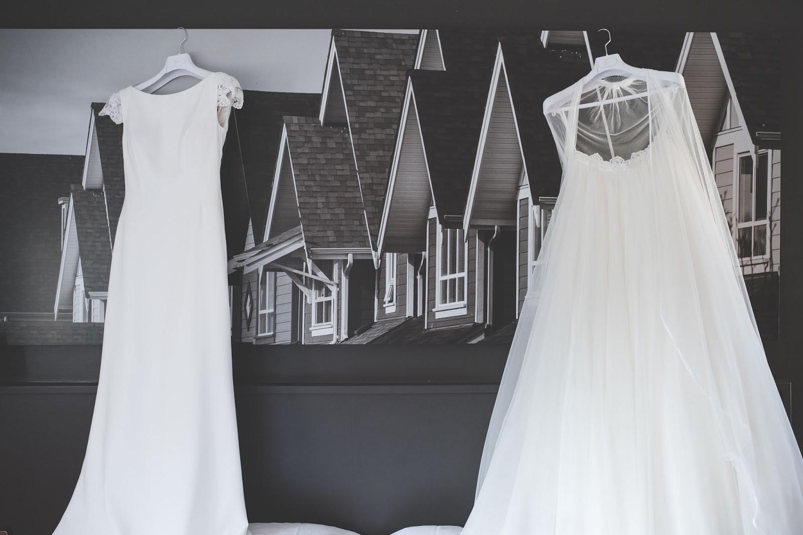 vestido novia dos en uno