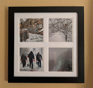New York City in the Snow Photo Tetraptych by Citysqwirl