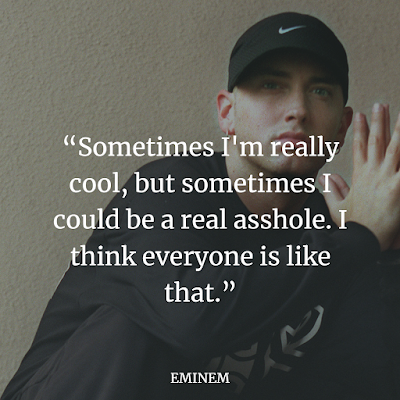 Top Eminem inspirational quotes