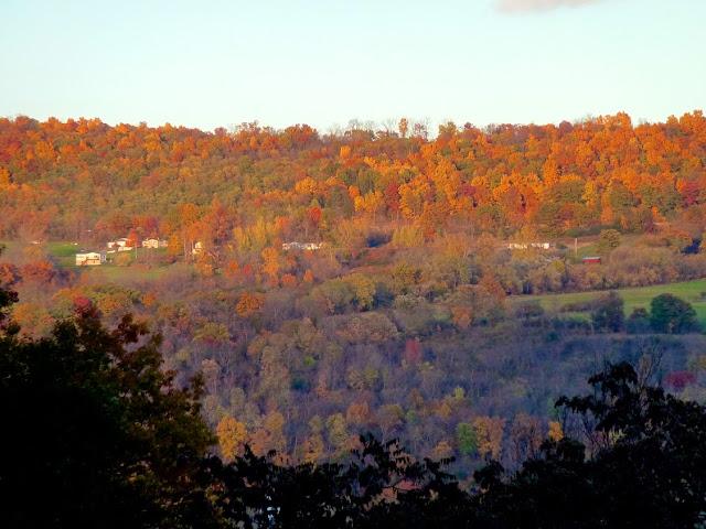 Colores de otoño en Watkins Glen