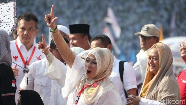Para Artis yang 'Putihkan' GBK dan Dukung Prabowo-Sandiaga Uno