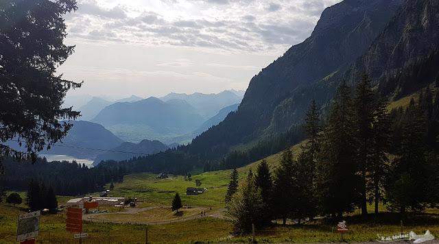 estação Fräkmüntegg, Monte Pilatus, Suíça