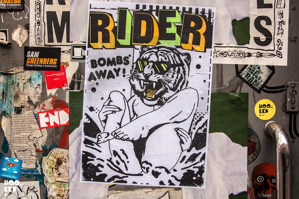 5 Brick Lane Street Art Hotspots for Paste-ups, Fashion Street - Ben Rider