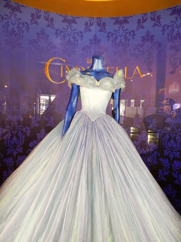 Cinderella movie ball gown