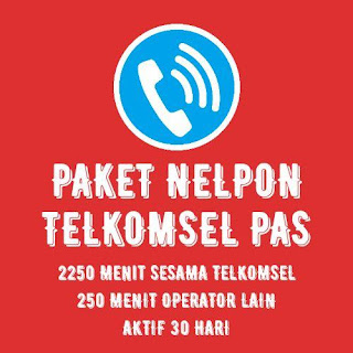 PAKET NELPON TELKOMSEL 2250 MENIT 30 HARI