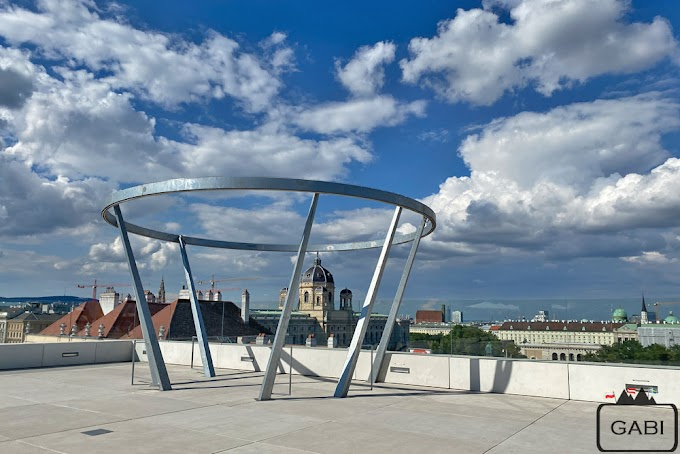 MQ Libelle - taras widokowy w MuseumsQuartier