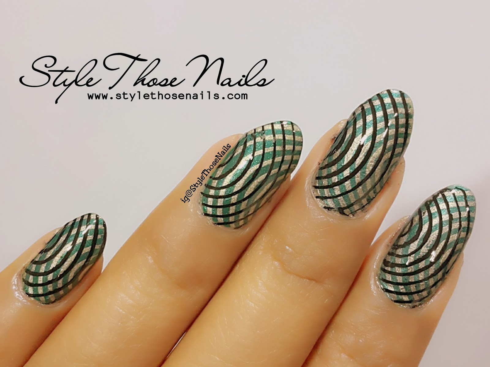 Style Those Nails Double Stamping Nailart Video Tutorial Indian