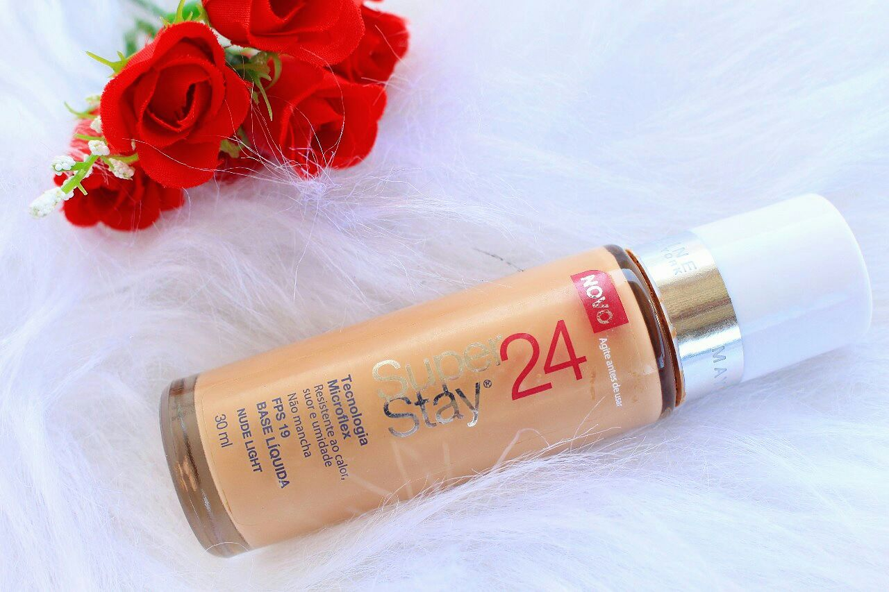 Resenha: Base Superstay Maybelline 24hrs