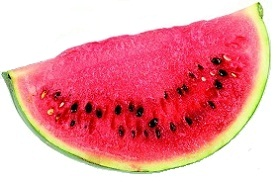 البطيخ من الأكلات التي تساعد على حرق الدهون