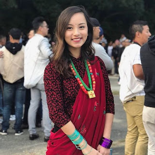 Beautiful Girl In Nepal