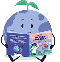Learn the ins-and-outs of climate change with the online children's book Saving Planet Earthly by ClimateScience. Ideas to protect the environment.