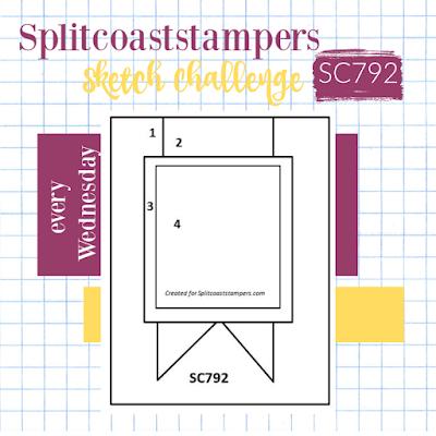 Splitcoaststampers card sketch 792