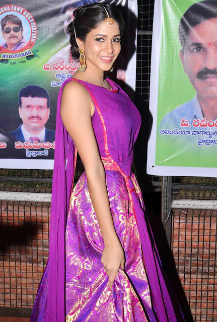 Lavanya Tripathi Stills At Soggade Chinni Nayana Audio Launch
