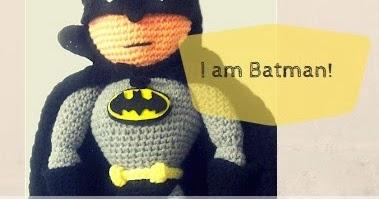 Batman | Amigurumi patrones gratis, Patrones amigurumi, Ganchillo ... | 199x379