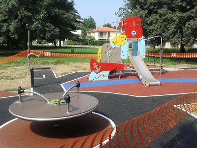 Parco inclusivo a Robecco sul Naviglio
