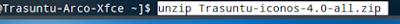 unzip Trasuntu-iconos-4.0-all.zip