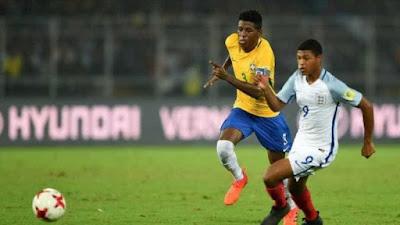 Brasil perde para Inglaterra no Mundial Sub-17, mas é elogiado pela boa campanha
