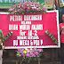 Relawan Diah Warih Gelar Aksi Simpatik, Buat Petisi dan Karangan Bunga untuk Bu Mega