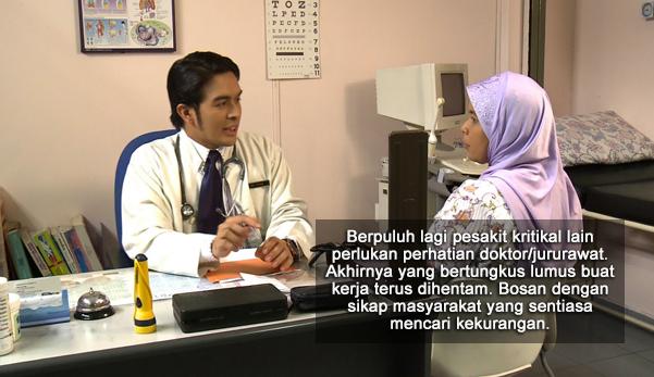 """Bila Doktor Tak Bagi MC Mulalah Keluar Ayat, """"Kau Pekerja, Kami Bayar Cukai"""""""