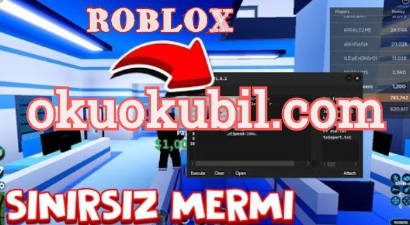 Roblox Jailbreak Sınırsız Cephane + Mermi Hilesi Script 2020