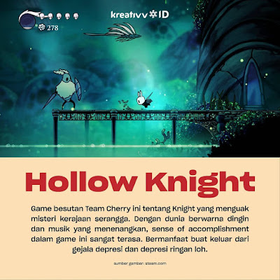 Game Hollow Knight Peduli Dengan Kesehatan Mental